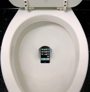 טלפון בשירותים