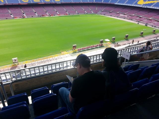 מבט על האיצטדיון