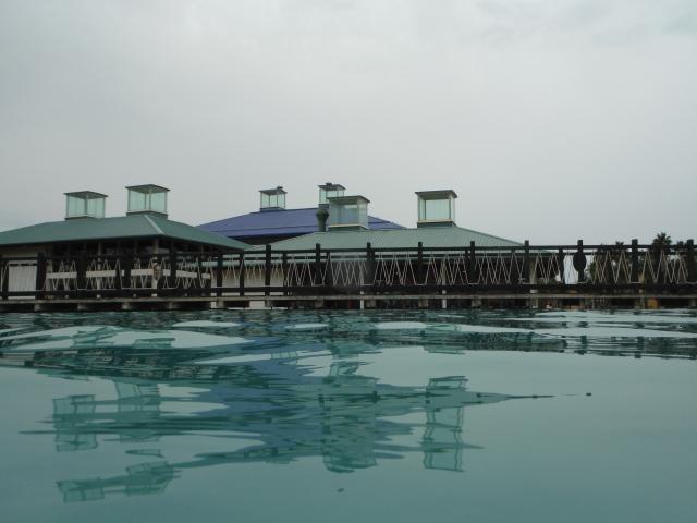 הבריכה (רגע לפני שמתחיל לרדת גשם)